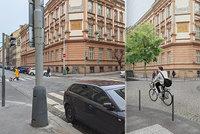 Třaskavé téma v Praze 3: Stromy, nebo auta? Kvůli zeleni ubyde ve Slezské přes 60 parkovacích míst
