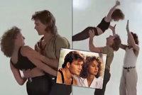 Utajené záběry z natáčení Hříšného tance: Takhle Johnny a Baby cvičili slavnou zvedačku!