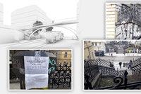 Spory o lávku přes Bělehradskou na Vinohradech: Místní i opozice jsou proti, sepisují petici