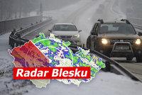 První den jara pod sněhem. Česko čekají sněhové přeháňky a ledovka, sledujte radar Blesku