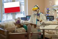 Polsko zažívá enormní nápor v nemocnicích. Sanitky nestíhají, hotely zavřely a vleky stojí