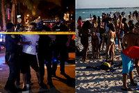 Party končí. Miami kvůli davům studentů vyhlásilo nouzový stav a zakázalo noční vycházení