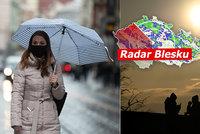 Velká květnová předpověď: Teploty nepřelezou průměr, přidá se déšť, sledujte radar Blesku