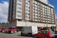 Poplach v rekonstruovaném hotelu InterContinental: Na střeše hořelo