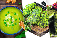 Zelená je barva jara: Zkuste mechový dort, pomazánku i karbanátky!