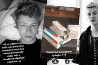 Zpěvák Adam Mišík skončil v nemocnici: Ochrnutí půlky obličeje, zánět a hora prášků!