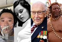 Prezident, princezna, herečky i 100letý hrdina: S covidem zemřela řada známých tváří