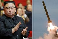 Kim už zase zbrojí: KLDR odpálila dvě rakety, poprvé od nástupu Bidena. Jako varování?