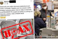 Slovenka Marta doma zapálila respirátor a začala šířit dezinformace: V čem nemá pravdu?