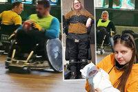 """""""Vozíčkem život nekončí!"""" říká bojovnice Katka (19). Přes vzácnou nemoc se nechce vzdát """"drsného"""" sportu"""