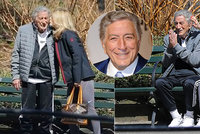 Zpěvák Tony Bennett: S Alzheimerem bojuje láskou k o 40 let mladší manželce!