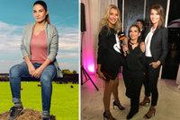 Mrňavá Eva Decastelo vedle modelek vypadá jako hobit! Kolik měří?