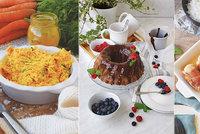 Recepty spočítané do poslední kalorie! Zkuste bábovku, kuřecí rolky i pomazánku s kari!