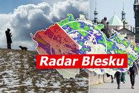 Velká velikonoční předpověď: Přes 20 °C vystřídá mráz, sníh i bouřky, sledujte radar Blesku