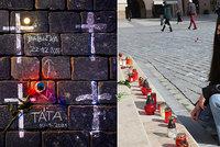 Muzikant Petr se zabil kvůli opatřením, měl dvě děti! Valentina (19) mu zapálila svíčku na Staromáku