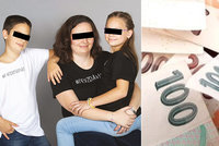 Samoživitelka Lenka vychovává syna autistu a dceru po operaci: Problém s bytem i předsudky