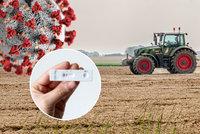 Zemědělci a covid: Lidí zatím mají dost, kritické bude léto. Bojí se kapacit testování
