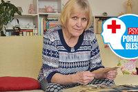 Psychoporadna Blesku: Covid odřízl paní Jiřinku (75) od rodiny. Horší chvíle jsem nezažila, říká