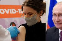 Putin promluvil o bolesti po očkování. Imunitu budou mít Rusové do konce léta, míní