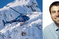 Špatné počasí, nebo technické potíže? Vyšetřovatelé řeknou, proč havaroval vrtulník s Kellnerem (†56)