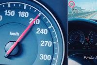 Zlatá mládež v BMW? Tomáš F. opět v akci a nepoučitelný: Kvůli 215km/h mu jde policie po krku!