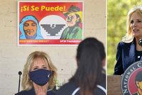 """""""Ano, my otec."""" Bidenová pobavila Američany svou španělštinou, zkomolila prostou frázi"""