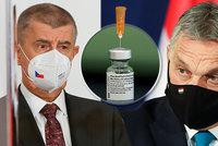Dary pro Česko: Vakcíny nám dají i Maďaři. Celkem získáme 80 tisíc dávek, raduje se Babiš