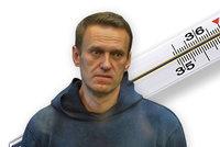 Strach z tuberkulózy: Navalného za mřížemi trápí kašel a teplota, spoluvězni jsou nakažení