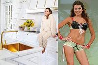 Alena Šeredová si v Itálii žije jako královna: Dřez i kohoutky má ze zlata!