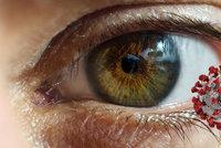 Koronavirus může proniknout do oka: Lékař řekl, proč je důležité mít správně nasazený respirátor