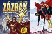 Scenárista Macek a výtvarník Kopl: Komiksový Zázrak aneb zrození superhrdiny v Čechách
