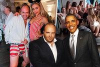 Skandální focení nahotinek v Dubaji prý zařídil ukrajinský playboy: Zná se s Obamou i Clooneym!