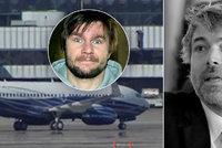 Boeing nejbohatšího Čecha přistál v Praze: Přivezl i Kellnerovo (†56) tělo? A Horváth mluvil s vyšetřovateli