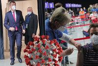 Koronavirus ONLINE: Babiš a Arenberger na inspekci. A Slováci mají Rusům Sputnik vrátit