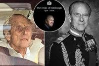 Poslední fotky prince Philipa (†99) před smrtí: Týdny v nemocnici ho poznamenaly!