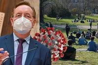 Koronavirus ONLINE: 3697 případů za středu. A léto už bez roušek, naznačil Arenberger