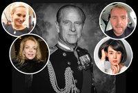 České celebrity reagují na smrt prince Philipa (†99): Dojatá Absolonová, mystický zážitek Chaloupkové a vzpomínky Havlové!