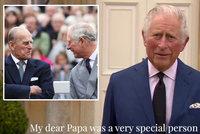 """Princ Charles poprvé po smrti Philipa na veřejnosti: Dojemná slova o """"milovaném tatínkovi"""""""