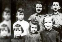 Nepoznáváte je? Pátrá se po 11 židovských dětech, které zachránili odbojáři z Ostravska
