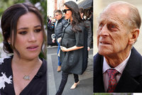 Meghan nepřiletí na pohřeb Philipa (†99): Tenkrát to šlo, a teď ne?! zlobí se Britové