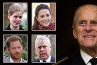 Konečný seznam 30 vyvolených! Jen tito truchlící smí na pohřeb prince Philipa (†99)
