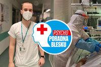 Vilém (22) pečuje o pacienty s covidem na ARO ve Zlíně: Na smrt se nedá zvyknout
