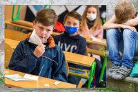 """Ponížení i trauma: Psycholog řekl, jak může pozitivní test ve škole """"zamávat"""" s dětmi"""