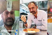 Kuchař Ridi (49) po 10 dnech v nemocnici na kyslíku ztratil svaly: Covid mě rozsekal!