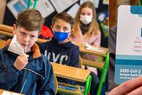 Jen zlomek pozitivních žáků ve školách: Záchyt je nízký, PCR testy jsou lepší, přiznává Plaga