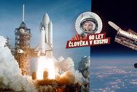"""K čemu raketoplán vezl do vesmíru obří """"brýle""""? Hubbleův teleskop šilhal"""