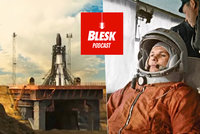 Podcast: Gagarin ve skafandru počůral pneumatiku a vylétl do vesmíru. O speciálu Blesku, promluvil novinář Valeš