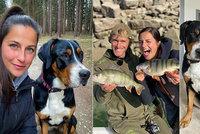 Kdo je nová kráska rybáře Jakuba Vágnera? Claudia není Češka, s prutem však umí divy!