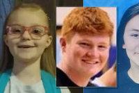 Záhadné zmizení tří dětí (8, 14 a 17): Ztratily se ve stejné oblasti během 7 měsíců