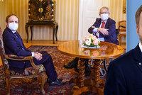 """""""Slušný kluk"""" se představil Zemanovi. Kulhánka jmenuje ministrem zahraničí příští týden"""